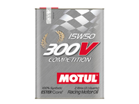 Motul 300V Competition 15W50 2L ESTER Core technology